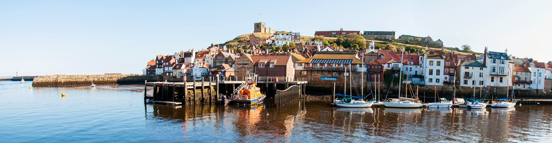 Whitby on the North Yorkshire Coast